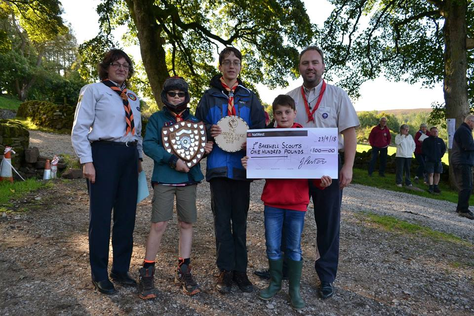 Border Hike 2018 Winners - 1st